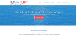 Dr. Boatlift Website Homepage