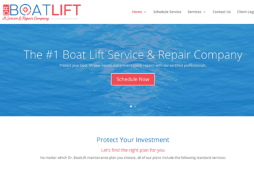 Dr. Boatlift Website Copywriting Project