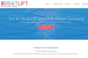 Dr. Boatlift Website Copywriting Project