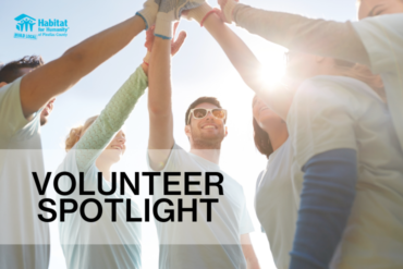 Habitat for Humanity Volunteer Spotlight E-Newsletter Article