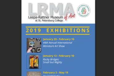 LRMA 2019 Exhibition Rack Card Design Work
