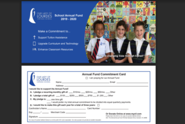 OLL School Annual Fund 2019 Design Work