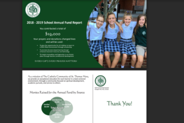STM School Annual Fund 2018 Design Work