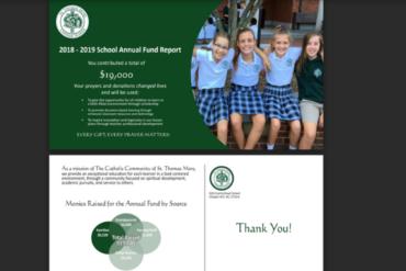 STM School Annual Fund 2018 Design Work