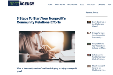 The Root Agency Blog Post