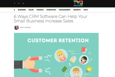 Tweak Your Biz CRM Article