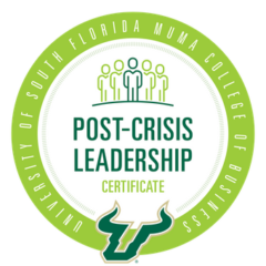 USF Muma Post Crisis Leadership Badge